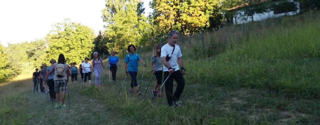 Lezione di Nordic Walking e Bungypump in Monferrato