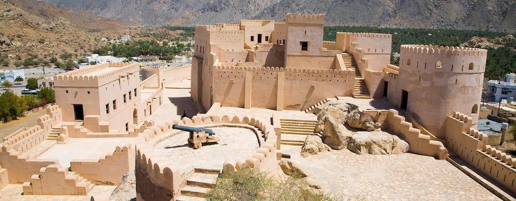 Excursão ao norte e Forte Nakhl saindo de Muscat