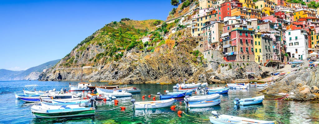 Small group Cinque Terre day tour from Florence