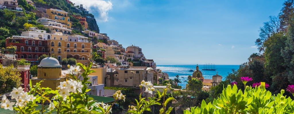Day tour to Pompeii and Amalfi Coast from Rome