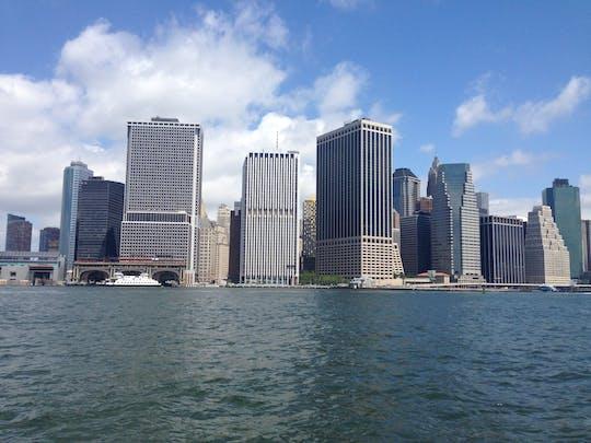 Sightseeingcruise naar het Vrijheidsbeeld en de skyline van NYC