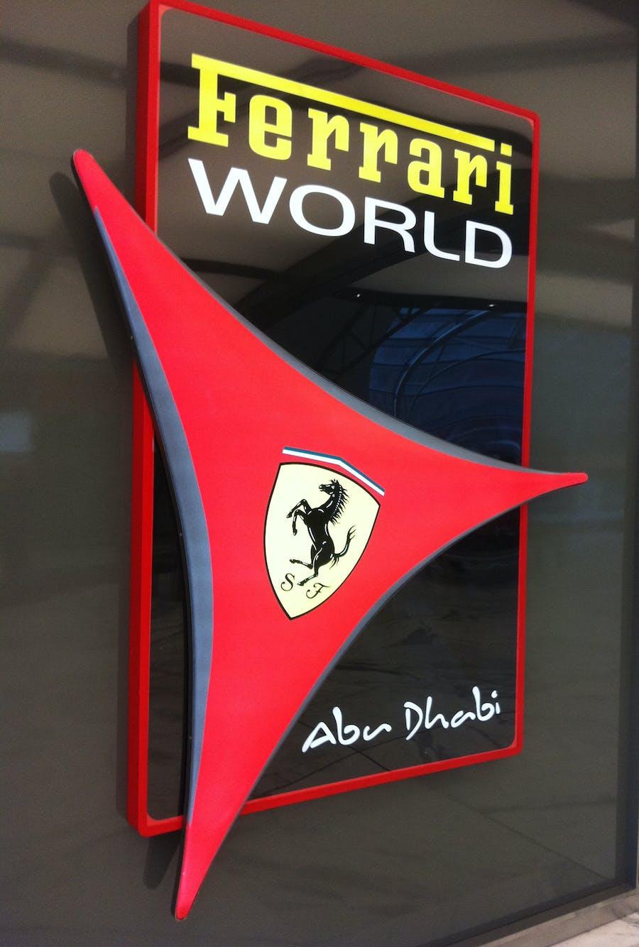 ferrari world abu dhabi tickets with transfer from dubai. Black Bedroom Furniture Sets. Home Design Ideas