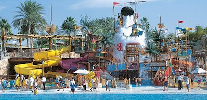 Wild Wadi Waterpark tickets with transfer