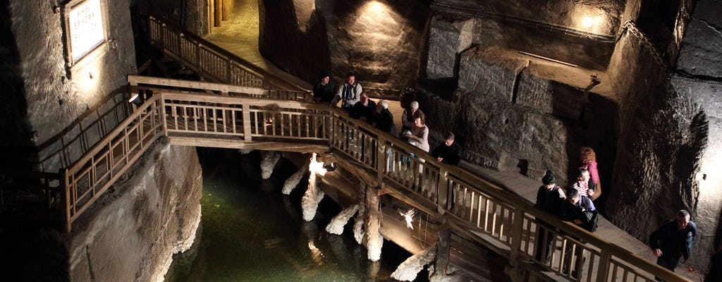 Wieliczka Salt Mine and Oskar Schindler Factory guided half day tour from Krakow