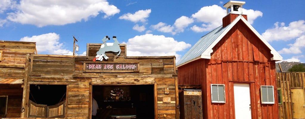 Excursión de un día al explorador del pueblo fantasma del salvaje oeste desde Las Vegas
