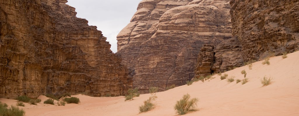 Two day tour of Petra and Wadi Rum from Eilat