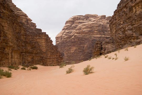 Tour de dois dias de Petra e Wadi Rum de Eilat