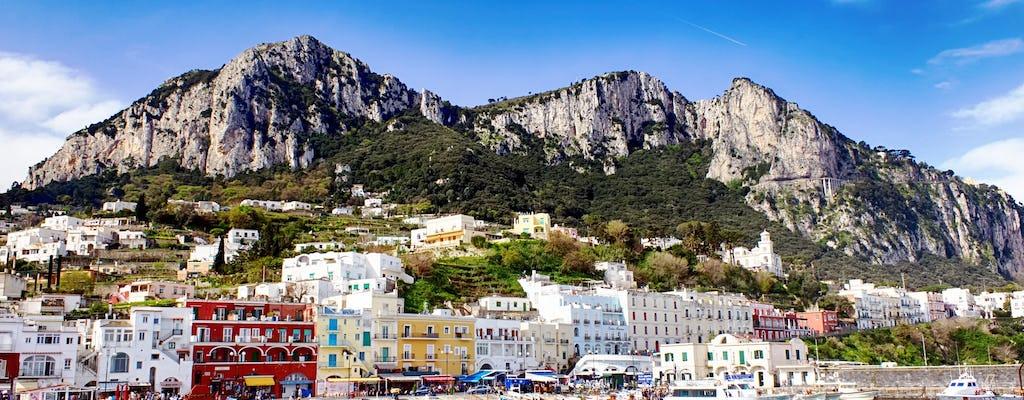 Tour di gruppo dell'isola di Capri