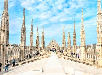 Fast track admission tickets to the Duomo terraces