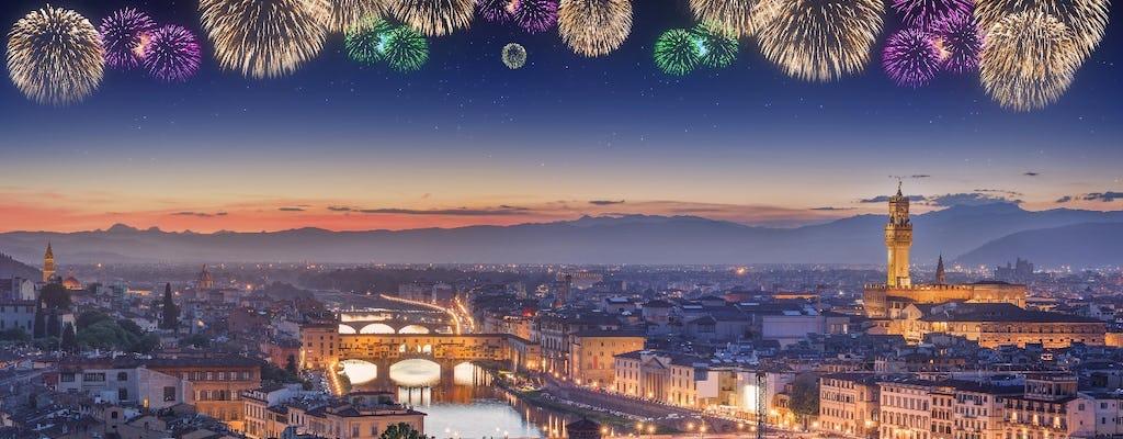 Nouvel An à Florence: Dîner toscan, concert de gala et Champagne près du Ponte Vecchio