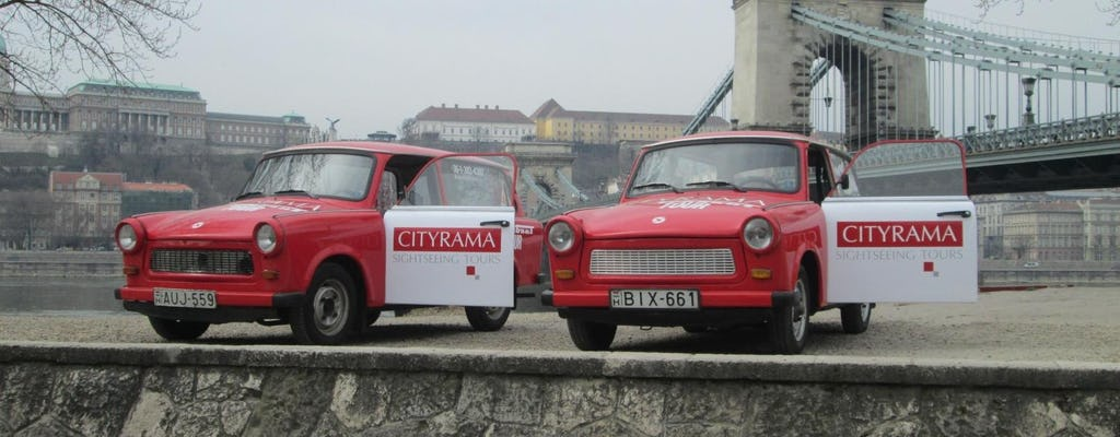 Trabant city tour of Budapest