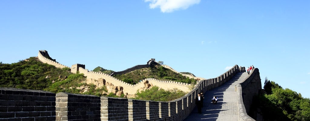 Beijing group day tour of Mutianyu Great Wall and Ming Tombs