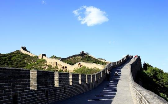 Beijing groepsdagtour door de Mutianyu Great Wall en Ming Tombs
