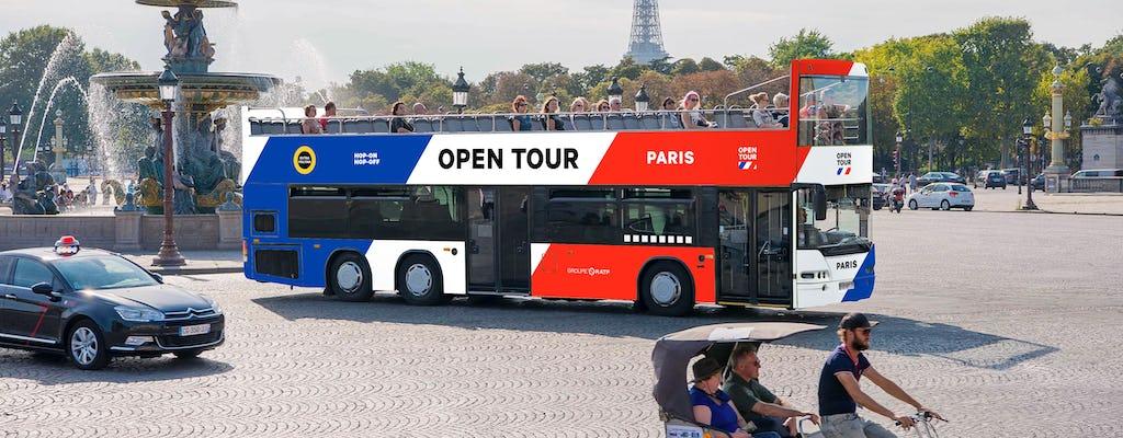 1-day ticket for Paris Opentour