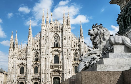 Best of Milan and Last Supper semi-private tour from Duomo