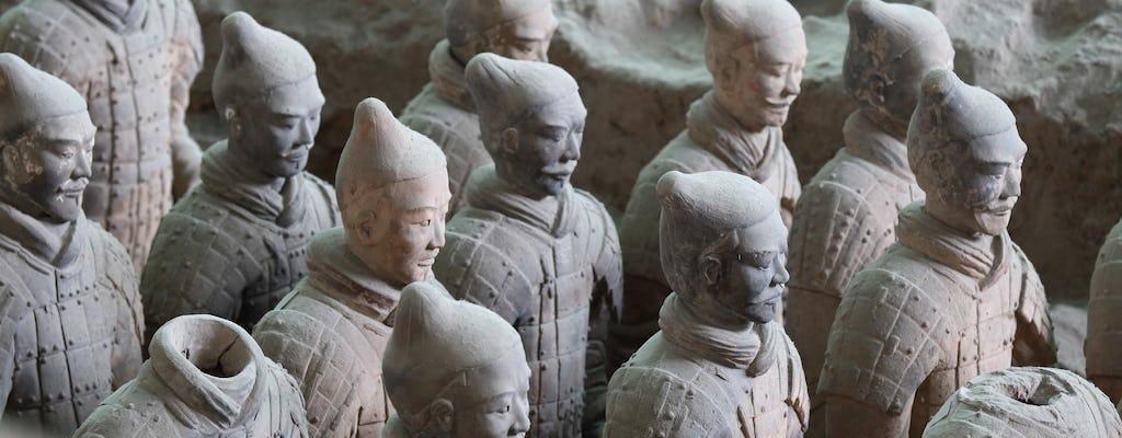 Xian group tour of the terracotta warriors and Qin Shi Huang mausoleum