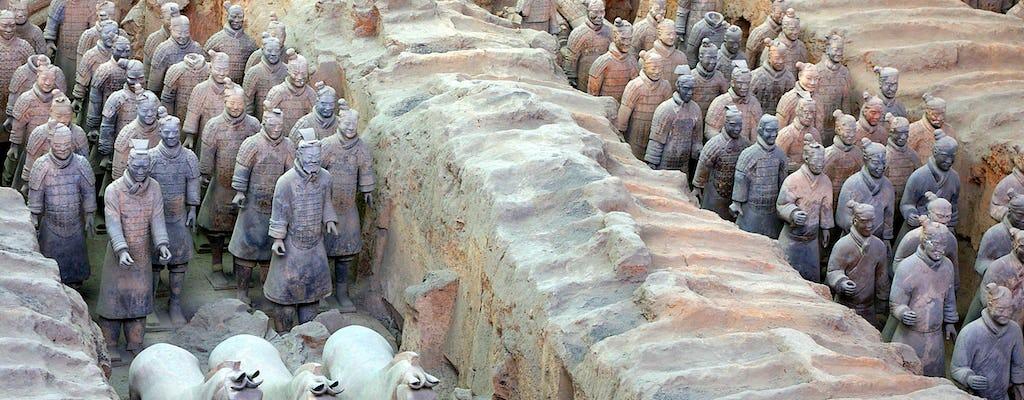 Групповая экскурсия в музей терракотовых воинов Цинь шихуанди мавзолей и музей Баньпо