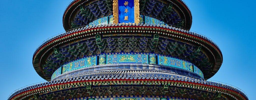Excursión de un día en grupo a Beijing por la Ciudad Prohibida, el Templo del Cielo y el Palacio de Verano