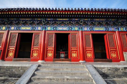 Beijing-groepsreis door Mutianyu Great Wall en de Verboden Stad