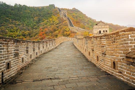 Mutianyu Great Wall Hiking Day Tour