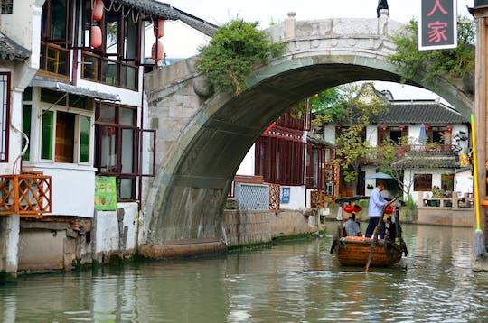 Групповой тур в Чжуцзяцзяо-город на воде и Хуанпу, ночной круиз по реке