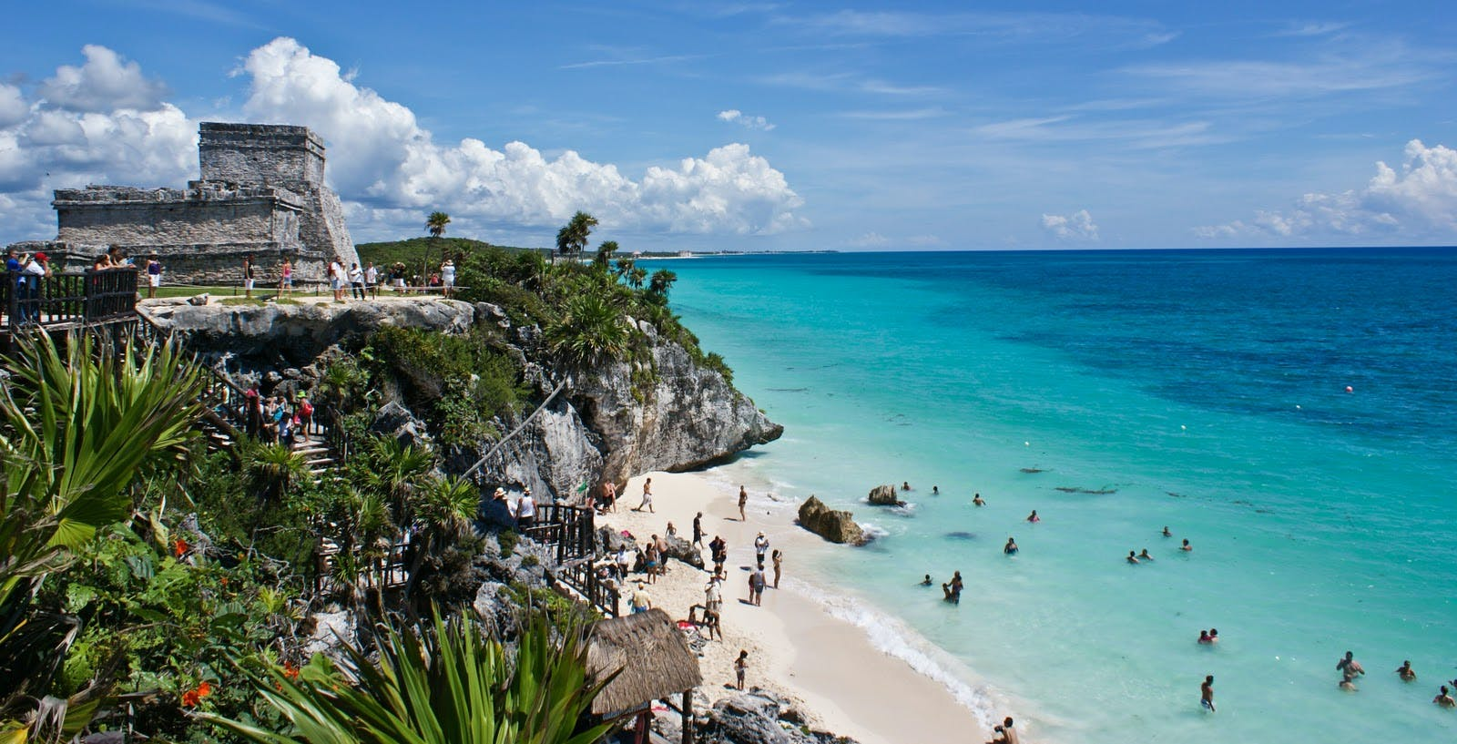 Private tour of Chichen Itza, Coba and Tulum with lunch and 'cenote' swim