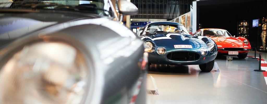 Entrada para el museo Autoworld de Bruselas