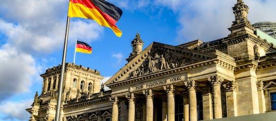 Visita guidata in tedesco: il quartiere del Parlamento e il Reichstag con sala plenaria e cupola