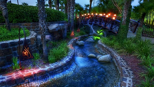 Dubai Garden Glow admission tickets and transfer