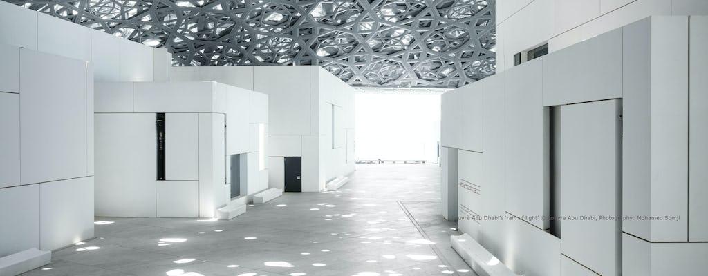 Visita al Museo Louvre Abu Dhabi y a la Gran Mezquita desde Dubái