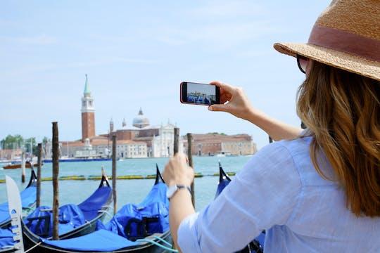 Tour privado a pie de día completo por Venecia con el mercado de Rialto