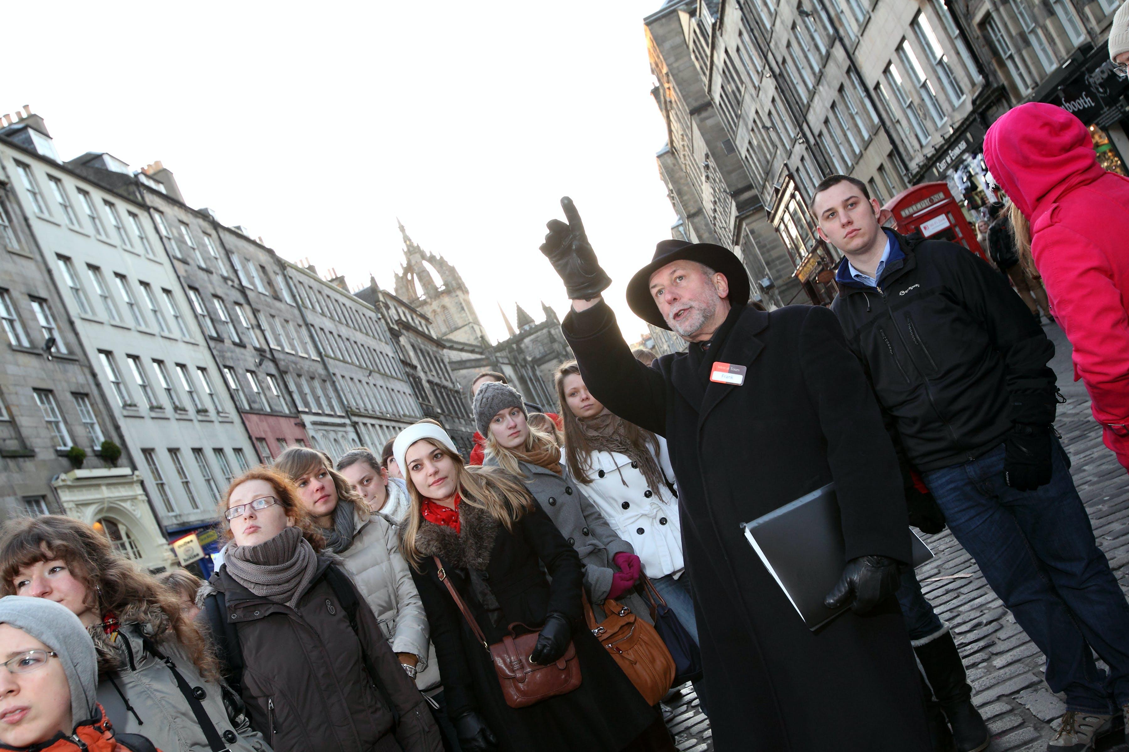 Edinburgh walking tour with optional Edinburgh Castle skip-the-line tickets and guide
