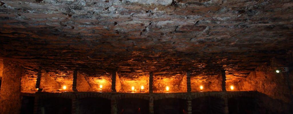 Recorrido a pie nocturno para adultos por lugares escondidos y embrujados de Edimburgo