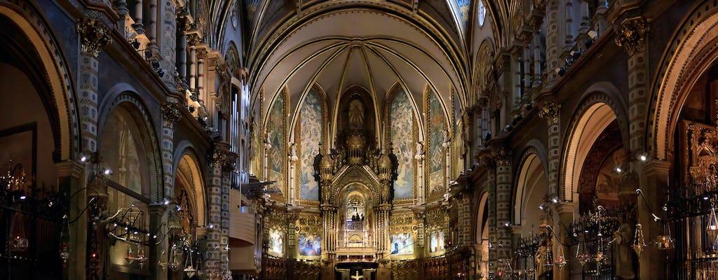 Montserrat całodniowa wycieczka z Barcelony z brunchem