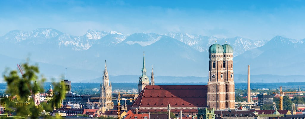 Munich city tour with guided visit to Bavaria Filmstadt