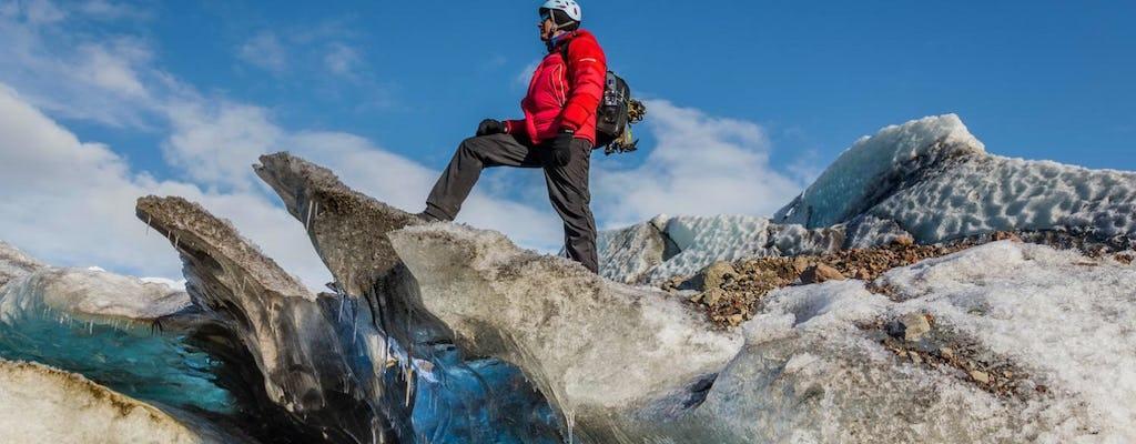 Viagem de um dia para o sul da Islândia e aventura de caminhada nas geleiras