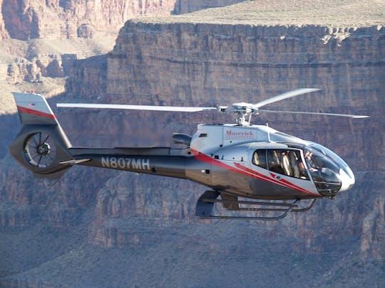 Lot śmigłowca Canyon Spirit z Grand Canyon South Rim