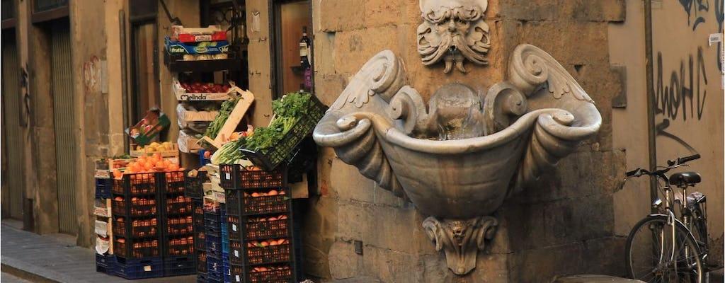 Por la tarde, tour gastronómico en Florencia con degustación de cerveza