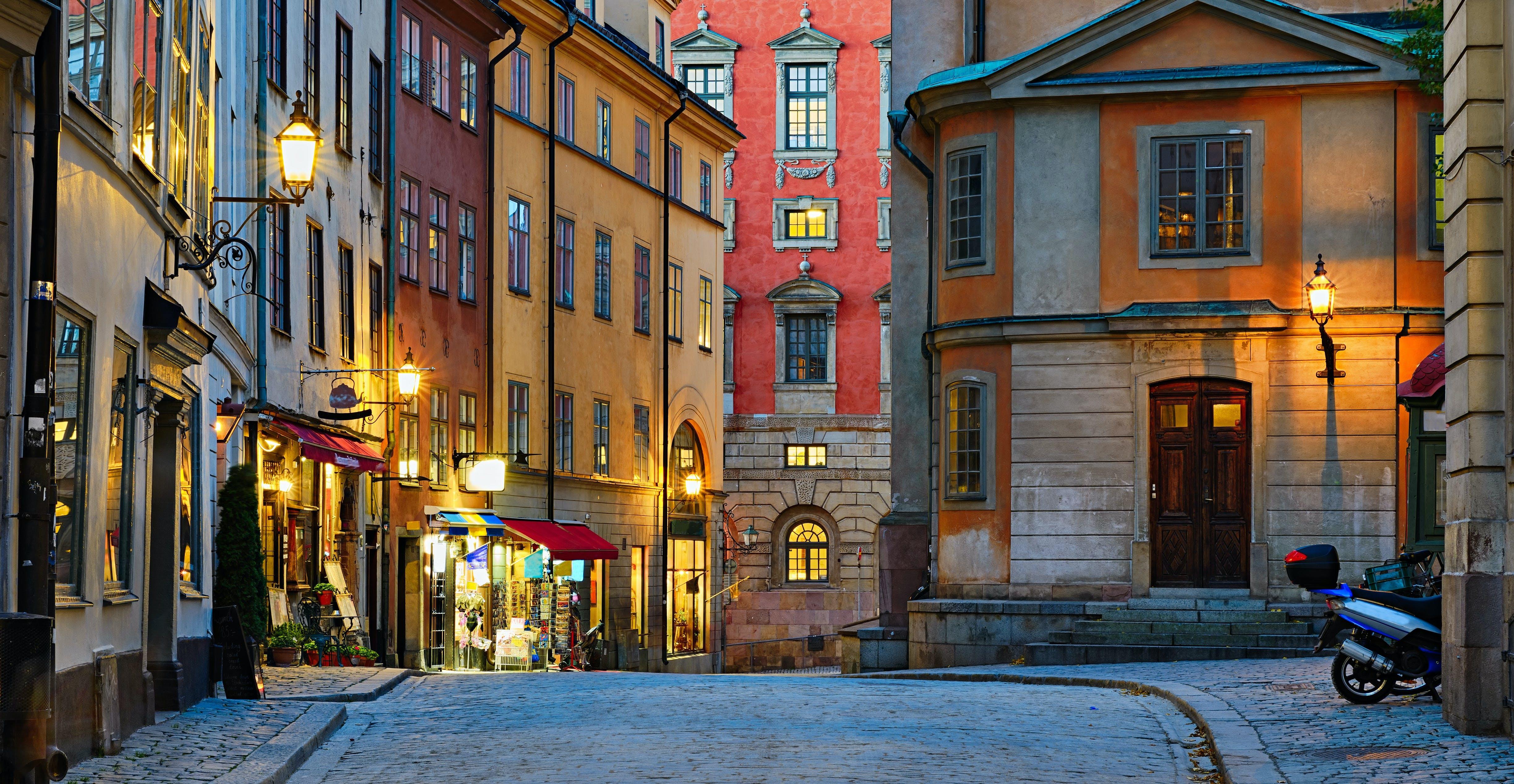 Ver la ciudad,Tours andando,Tour por Estocolmo,Tour por el centro histórico