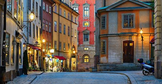 Стокгольму пешеходная экскурсия по Старому городу