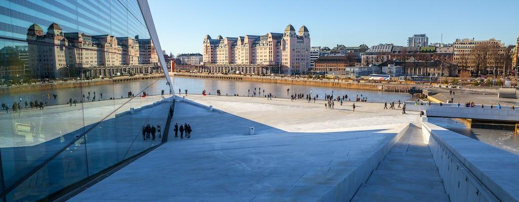 De stadswandeling van Oslo