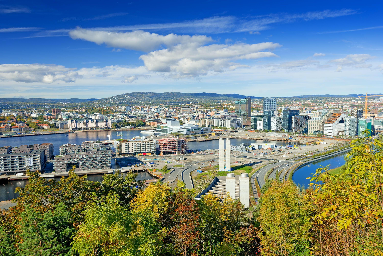 Ver la ciudad,Tour por Oslo