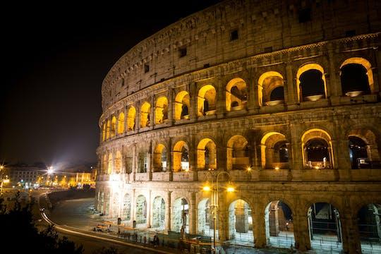 Coliseu e Fórum Romano com entradas sem fila e tour noturno