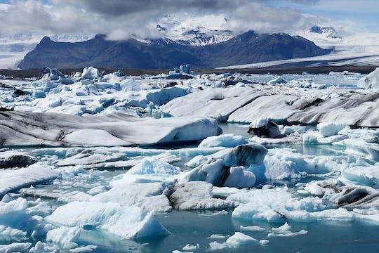 Recorrido al lago glaciar Jökulsárlón y la Costa Sur desde Reikiavik