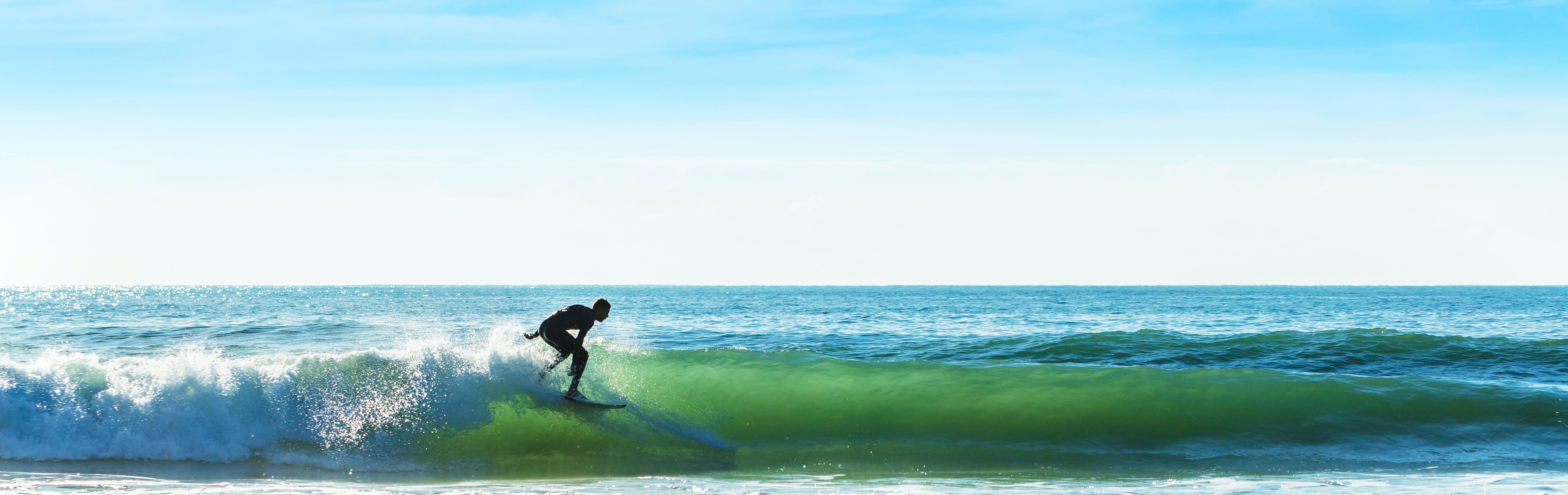 Surf Camp day trip in San Sebastian