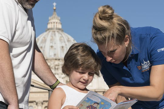 Vatican Museums highlights and Colosseum family combo tour