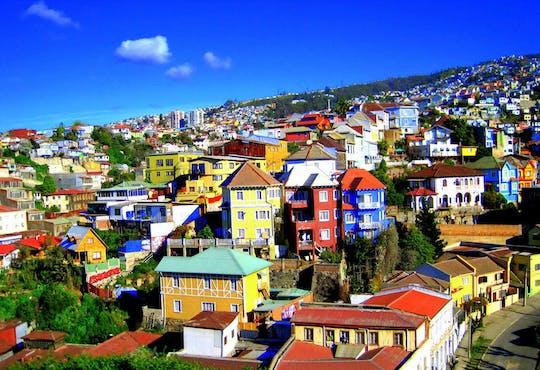 Ganztagesausflug nach Viña del Mar und Valparaiso mit Mittagessen