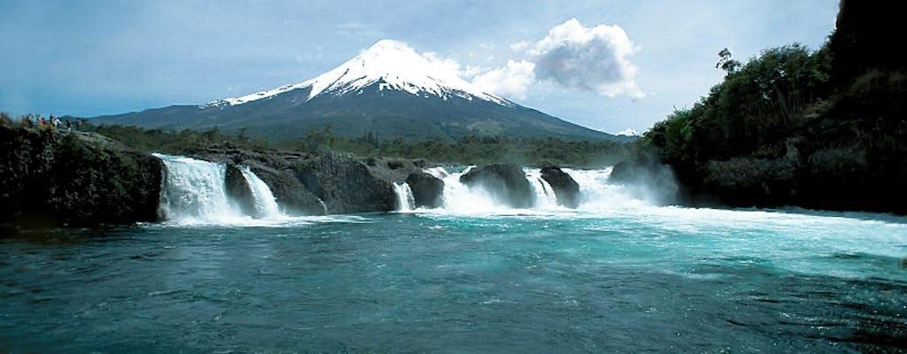 Petrohue Falls e excursão de dia inteiro ao vulcão Osorno com almoço