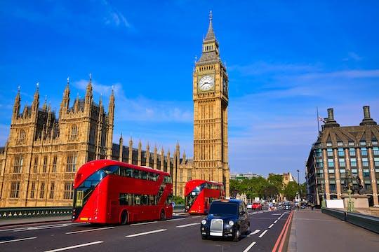 Лондон подчеркивает такси тур