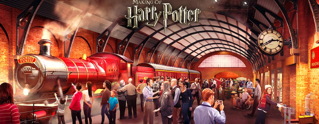 Warner  Bros. Studio Tour de Londres - The Making of Harry Potter com transfer em ônibus de luxo
